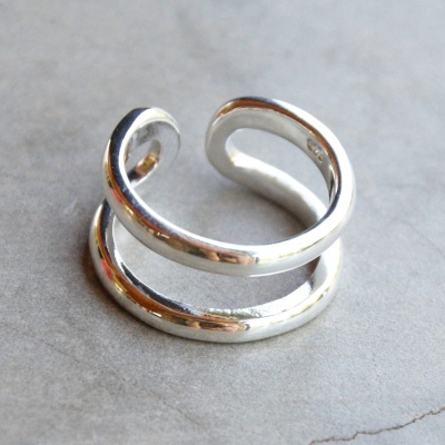 2 Band Narrow Ring