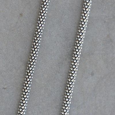 45cm Medium Oxidized Rope Chain