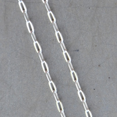 55cm Dainty Square Link Chain