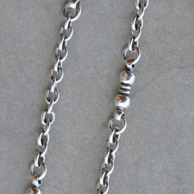 60cm Oxidized Handmade Chain