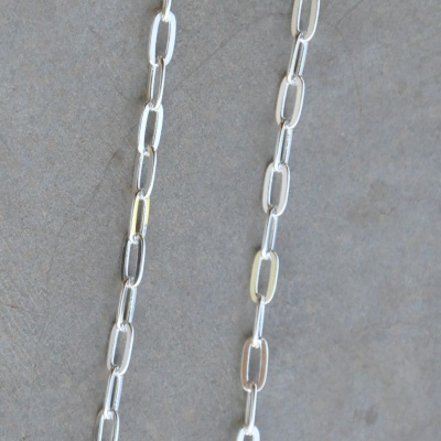75cm Dainty Square Link Chain