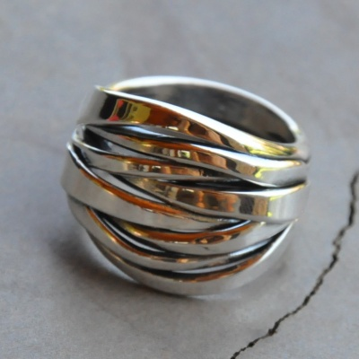 One Piece Stack Ring
