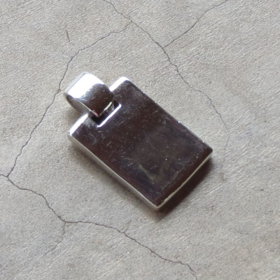 Sterling Silver Solid Bar
