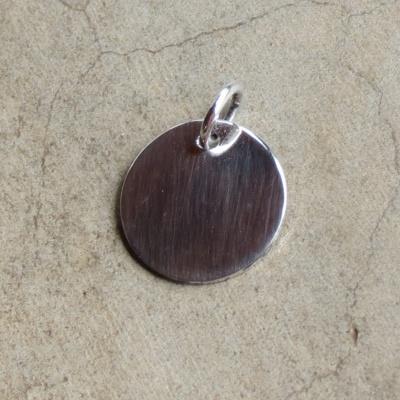 Sterling Silver Plain Heart Pendant