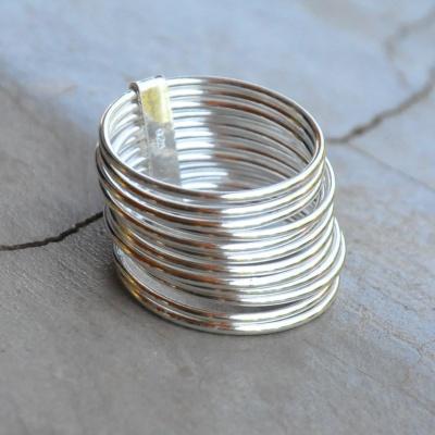 Mutli thin band ring R420 X 5 WRIS017