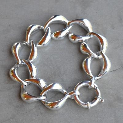 Sterling silver big bracelet (20cm) R990 x 6 WBRS011