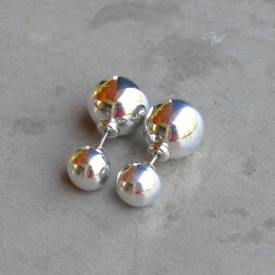 Sterling silver dior illusion balls R290 x 11 WERS019