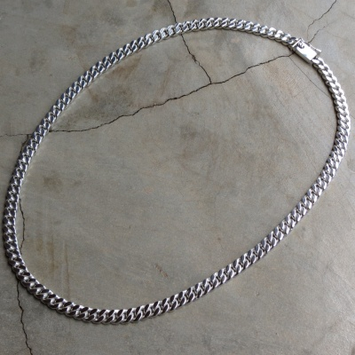 necklace chains solid sn combined figaro chain sterling silver