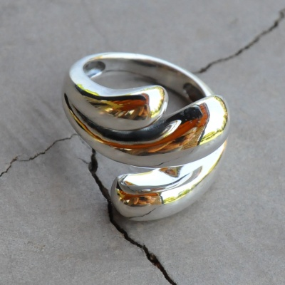 3 Band Overlapping Ring