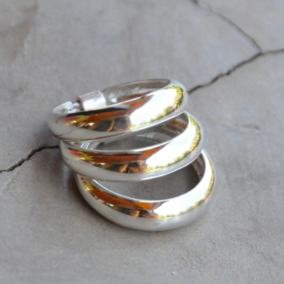 3 Band Rounded Ring