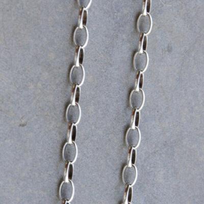 90cm Dainty Medium Link Chain