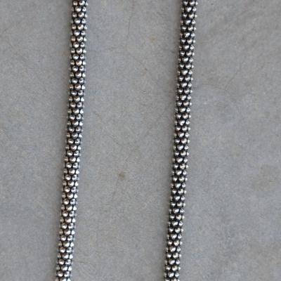 50cm Oxidized Medium Rope Chain