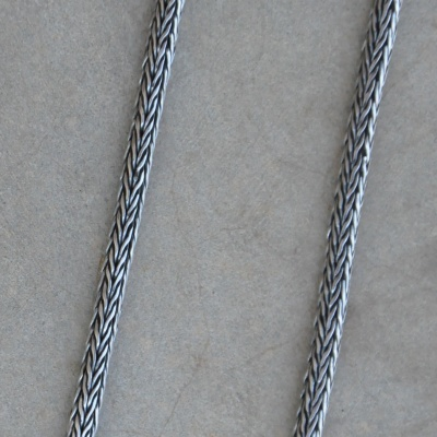 75cm Oxidized Medium Rope Chain